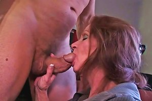 Horny Mature Misty White Gives Blowjob To Chance Caldwell