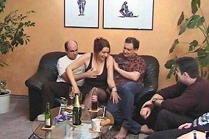 Mature Swingers Have A Beautiful Hardcore Foursome