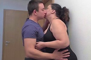 Chubby Mature Lady Doing Her Toy Boy Mature Nl