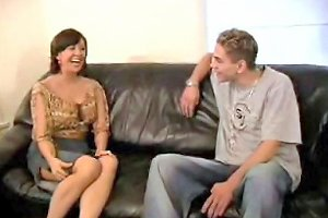 Shy Mature Woman Gets Her First Big Cocks F70