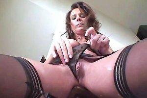 Cougar Dylan Dole Ices Her Pussy