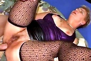 Anal Granny Fucked In Spotty Stockings Porn B1 Xhamster